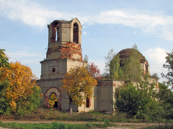 Богоявленская церковь села Чурики, 2007