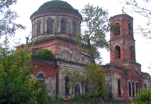 Троицкая церковь села Катино, сентябрь 2007 г