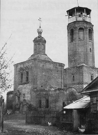 Храм Рождества Пресвятой Богородицы долгое время находился в ведении пожарной части