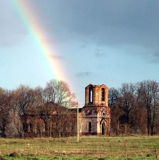 Покровская церковь села Старое Киркино, май 2003