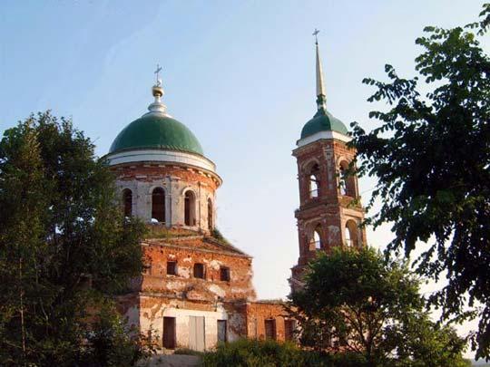 Церковь Успения богорордицы