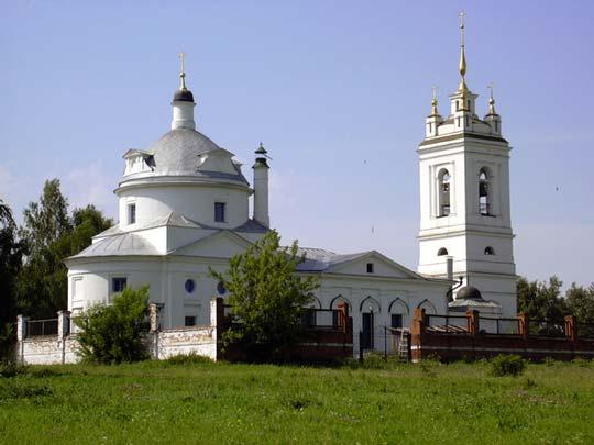 Церковь Казанской Богородицы