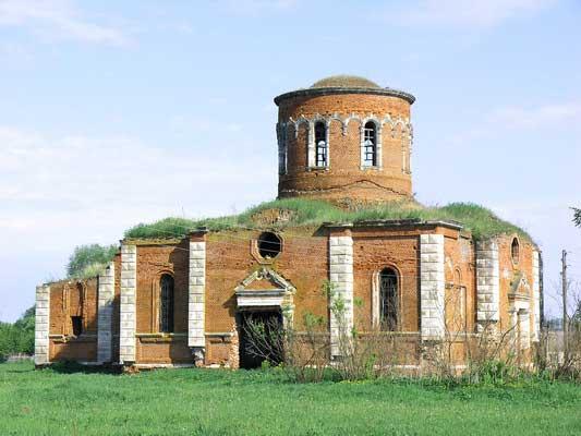 Воскресенский храм с.Старое Зимино