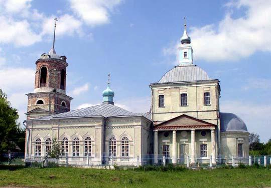 Церковь Рождества Богородицы в селе Новопанское