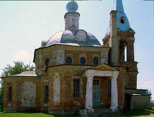Преображенский храм села Шумашь