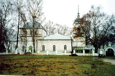 Храм Воскресения Словущего в Сушках. Фото А.Г. Соколова 2008 год