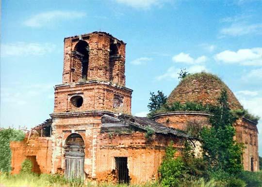 Церковь Николая Чудотворца в селе Мишино