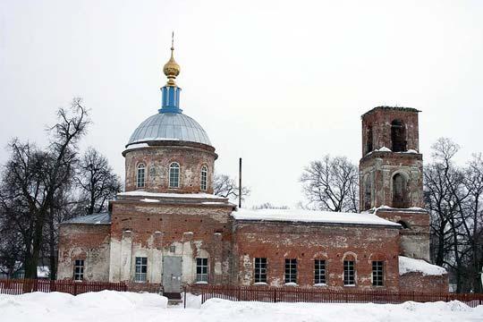 Церковь Покрова Богородицы в селе Никитино