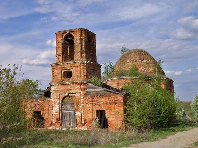 Церковь Вознесения фото с сайта Михайловского второго благочиния
