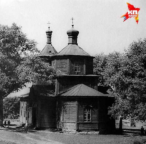 Покровский храм села Пупки Скопинского района, 1970 г