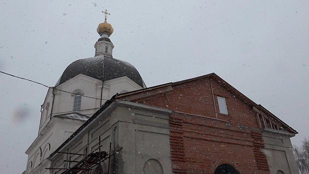 Архангельская церковь в с. Щетиновка