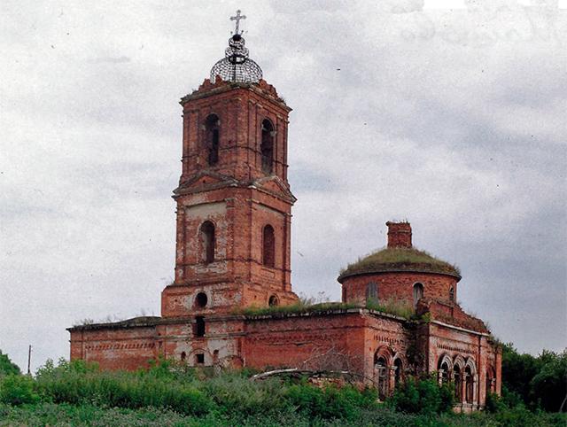 Преображенская церковь в с. Машково, Михайловского р-она, Рязанской обл.