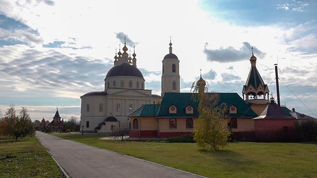 Покровский монастырь Михайловского р-она, Рязанской обл., октябрь 2019