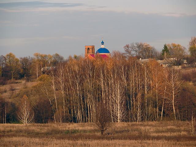 Храм Покрова Пресвятой Богородицы села Покровское-1. 16 октября 2019 года