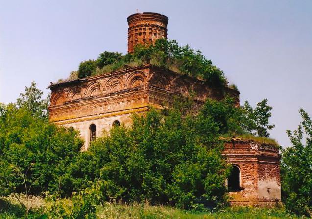 Константино-Еленинская церковь села Нагорное