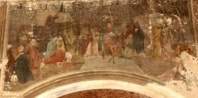 Вход Иисуса в Иерусалим на ослёнке