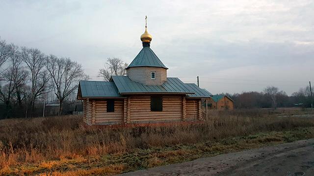 Успенская церковь в с. Сапково, Рыбновского р-она, Рязанской обл. Фото panyushkinseregei
