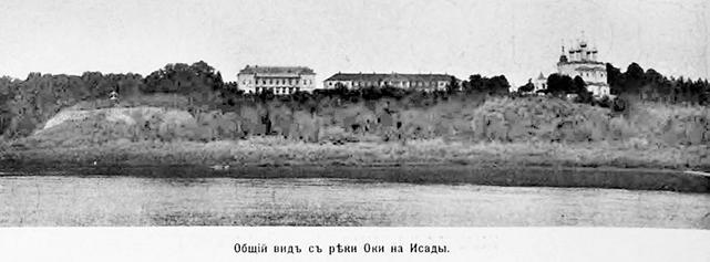 Воскресенская церковь в с. Исады, Спасского р-она, Рязанской обл.