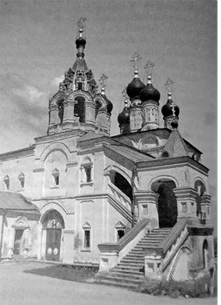 Преображенская церковь в с. Исады, Спасского р-она, Рязанской обл.