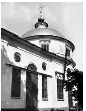 Церковь Владимирской иконы Божией Матери. Фото 1965 г