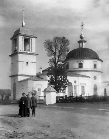 Ардабьево. Церковь Владимирской иконы Божией Матери