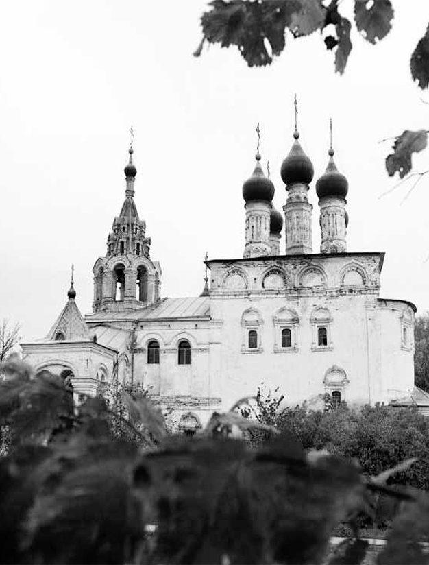 Церковь Воскресения Христова в с. Исады. Настоящее время