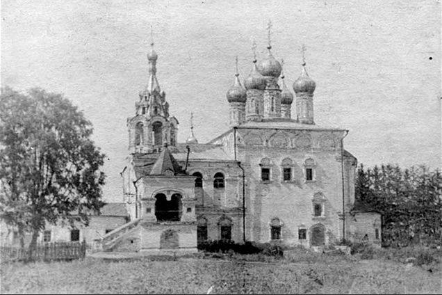 Церковь Воскресения Христова в с. Исады. 1939 г